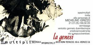 personale La Genesi 2005